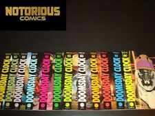 Doomsday Clock 1-12 Complete Variant Comic Lot Run Set Marvel Geoff Johns DC