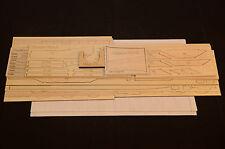 """1/8 Maßstab Fieseler Fi 156 Storch Laserschnitt Short Set & Plans 70 """" Flügel"""