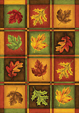 """""""Fall Leaves"""" 12.5"""" x 18"""" Fall Garden Flag by Toland"""
