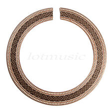 CLASSICAL GUITAR WOOD INLAID ROSETTE,SOUNDHLOE ROSETTE