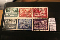 STAMPS GERMANIA REICH USATI USED N. 697/702 (A32953)