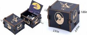 KDJSTORE Mini Music Box The Nightmare Before Christmas Wooden Hand Crank...