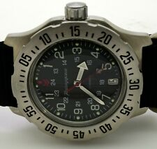 RUSSIAN VOSTOK KOMANDIRSKIE 350751 MILITARY AUTO WRIST WATCH NEW