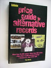 PRICE GUIDE TO ALTERNATIVE RECORDS GOLDMINE - ENGLISH BOOK - EXCELLENT