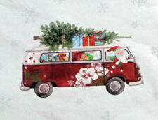 """Santa Out For Delivery Tissue Paper # 809 - 10 Sheets - 20"""" x 30"""""""