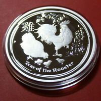 "Australien 1 Dollar 2017 ""Year of the Rooster"" 1 oz  #F3849 PP-Proof rare"