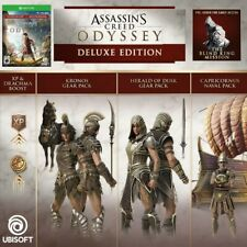 Assassin's Creed Odyssey *DELUXE EDITION* (XBOX One) New