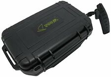 Scuba Diving Dive Waterproof Black Dry Box Case Container w/ Lanyard