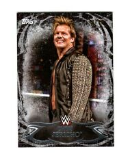 WWE Chris Jericho #35 2015 Topps Undisputed Black Parallel Base Card SN 41 of 99