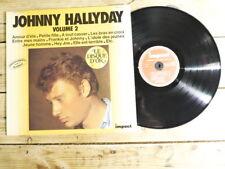 JOHNNY HALLYDAY VOLUME 2 LP 33T VINYLE EX COVER EX ORIGINAL