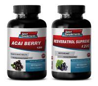 antioxidant complex - ACAI BERRY – RESVERATROL COMBO 2B - acai clear fiber