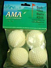 "Ama Golf Company 12"" Super Soft Flite Indoor Training Balls #248 (4 pack) (B501)"