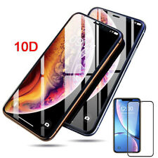 10D 9H FULL COVER Tempered Glass for iPhone XS XR 11,11 PRO MAX Screen Protector