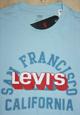 Levi's T-Shirt BLUE New with Tags size: S ; M : L; XL ; 2XL ; 3XL FREE SHIPPING