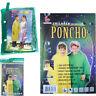 Poncho Kids Raincoat Rain Hooded Rainwear Coat Children Cape Jacket Lightweight