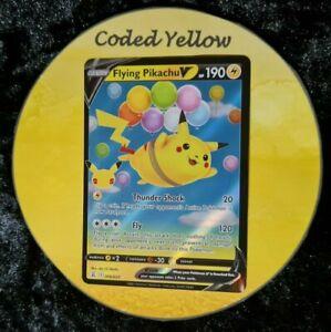 006/025 Flying Pikachu V  | Pokémon SWSH Celebrations | HALF ART Card | N/M