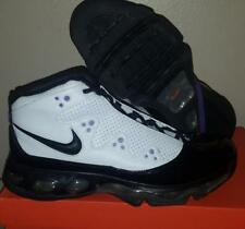 New Nike Air Force Max STAT S.T.A.T II 2 White Black Purple Basketball Shoes  11