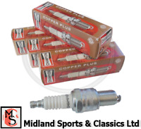 GSP4362X4 - SPRITE &  MIDGET PACK OF 4 CHAMPION COPPER CORE SPARK PLUGS N9YC