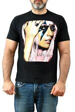 RED Rock of The T SHIRT LADY GAGA Vintage 90s T SHIRT Black A star is born M FAB