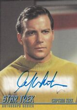 STAR TREK The Original Series (TOS) - Autograph A270 William Shatner as Kirk