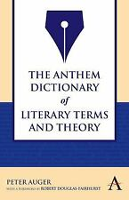 The Anthem Dictionary of Literary Terms and Theory (Anthem Learning)-ExLibrary