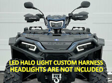 Polaris Sportsman Led light kit 2884859 custom harness w/ Halos 450 570 850 1000