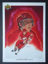 NHL 80 Theoren Fleury Calgary Flames Upper Deck 1991/92