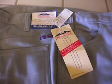 "Vintage Five Brothers Dakota Men's Pants Gentlemen's Fit 38"" x 34"" Grey w/tags"