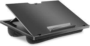 """HUANUO Laptopkissen Höhenverstellbar, für max. 15,6"""" Notebook, Ipad,Tragbarer..✅"""