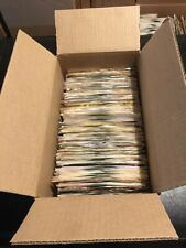 "Huge Lot of 150+ Rock Pop R&B 45 Rpm 7"" Vinyl Records in Sleeves All 1980's Nice"