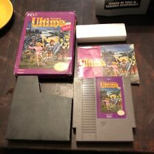 Nintendo NES, ULTIMA Exodus (Authentic) Complete in Box CIB Boxed