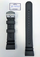 Original Citizen Promaster Aqualand JV0020-12F Black Rubber Strap Watch Band