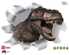 3D T-Rex Dinosaur Wall Vinyl Stickers Kids Wall Decal