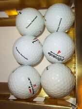 5 PRISTINE PINNACLE TITANIUM DISTANCE PRECISION FEEL GOLF BALLS & 1 EXTREME 6tot