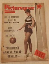 1955 PICTUREGOER FILM MAGAZINE Cover JILL IRLAND / Picturegoer Annual Award