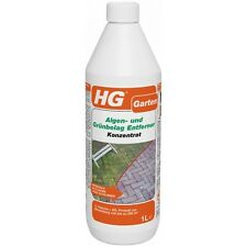 HG 1 Liter Algen- und Grünbelag Entferner Konzentrat ergibt 20 Liter Moos