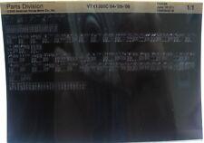 Honda VTX1300C 2004 - 2006 Parts List Microfiche h375