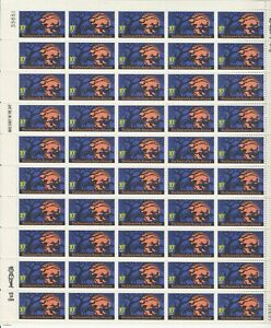 Legend of Sleepy Hollow Sheet of Fifty 10 Cent Postage Stamps Scott 1548