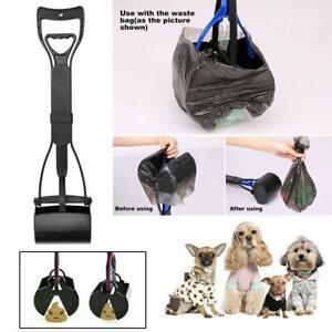 Long Handle Dog Pet Waste Pickup Poop Scooper Poo Remover Picker Scoop