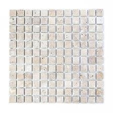 Mosaik Noce antique Travertine Fliesenspiegel Küche Wand Art: 43-4402 | 10Matten