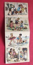 CPSM. Illustrateur Germaine BOURET. Carnet Colonies de Vacances. Série 1938.