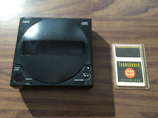 As Is - Turbo Grafx 16 Cd System + System Card -Won't Spin - As Is Repair