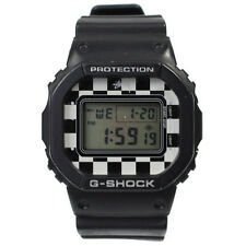 "NEW CASIO G-SHOCK STUSSY x G-SHOCK ""DW-5600 black checker"" LTD edt from japan"