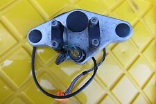 2000 BMW K1200LT TOP TRIPLE TREE WITH IGNITION SWITCH AND KEY