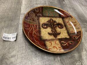 Fleur de Lis Decorative Plate - NEW
