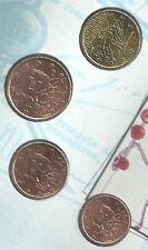 FRANKRIJK 2003 - 4 Munten uit de BU-set - 1 tot 10 cent - BU!!!