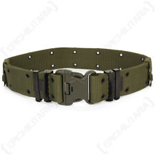 US LC2 Combat Belt with Duraflex Buckle - OD Webbing Army with Metal Eyelets