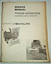"""New Holland Forage Harvesters """"Electronic Metal Detector"""" Service Repair Manual"""