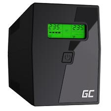 GC® USV-Anlage Unterbrechungsfreie Stromversorgung Notstromversorgung 600VA 360W