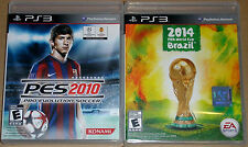 PS3 Game Lot - PES 2010 (Used) 2014 FIFA World Cup Brazil (New)